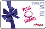 Custom eftpos gift cards