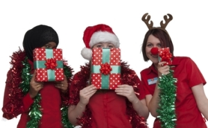 motivate employees with Christmas gifts